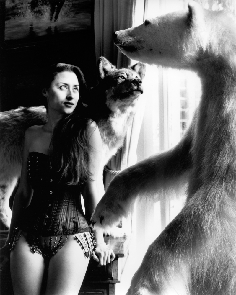 ©Kim Weston | Nude, Wolf, and Bear