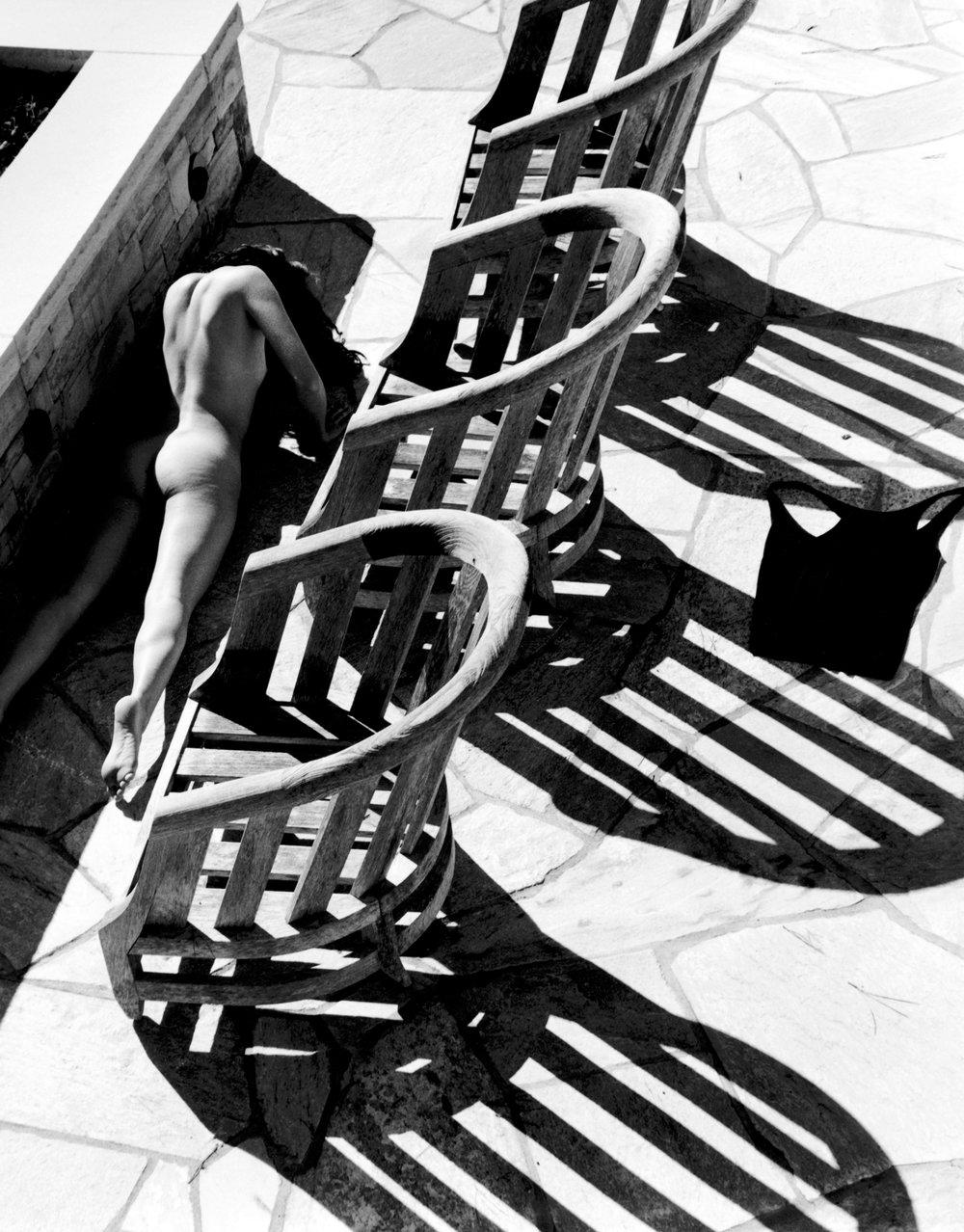 """Nude on Patio"" - Kim Weston Photography"