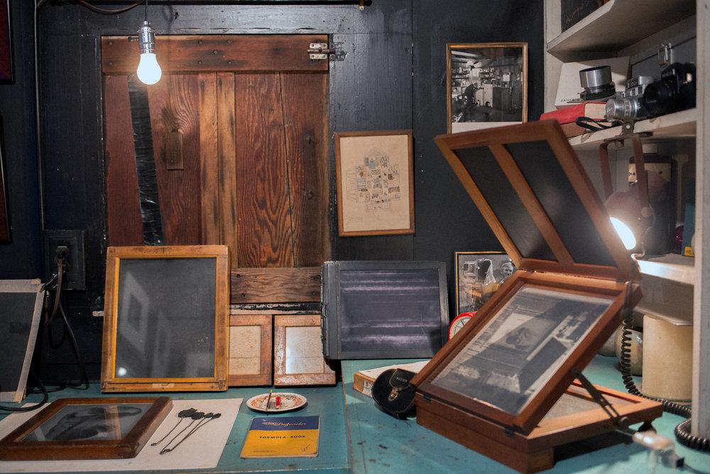 Videos - Print with Kim Weston in Edward Weston's Darkroom!