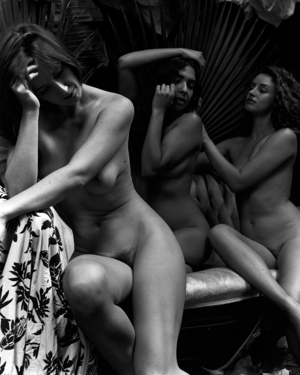 Nude Photograph by Kim Weston - Silver Gelatin Print Circa 2017