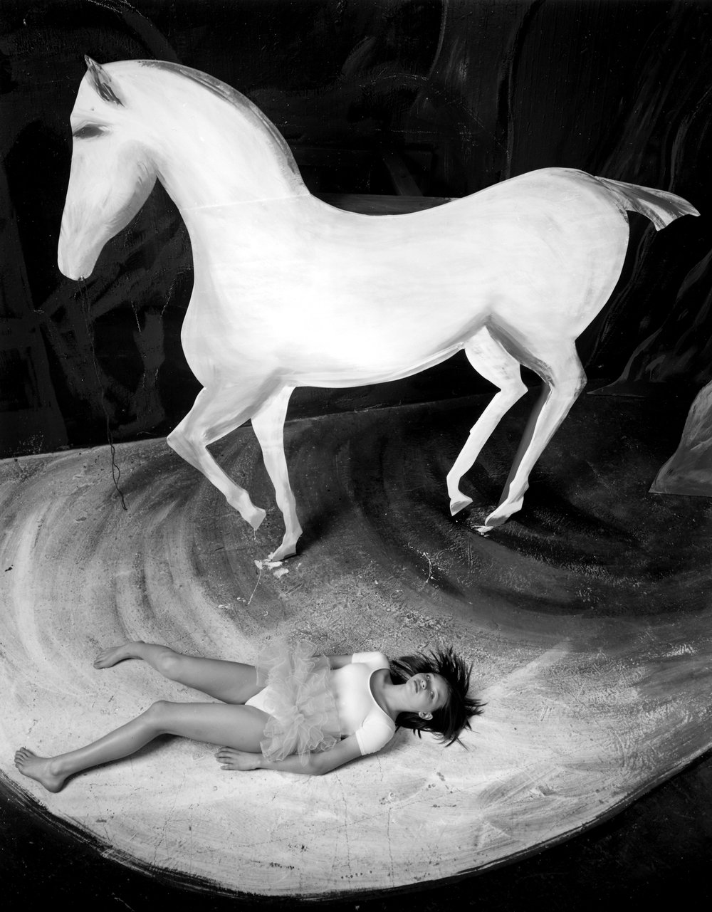 """Lauren and Horse"" by Kim Weston"