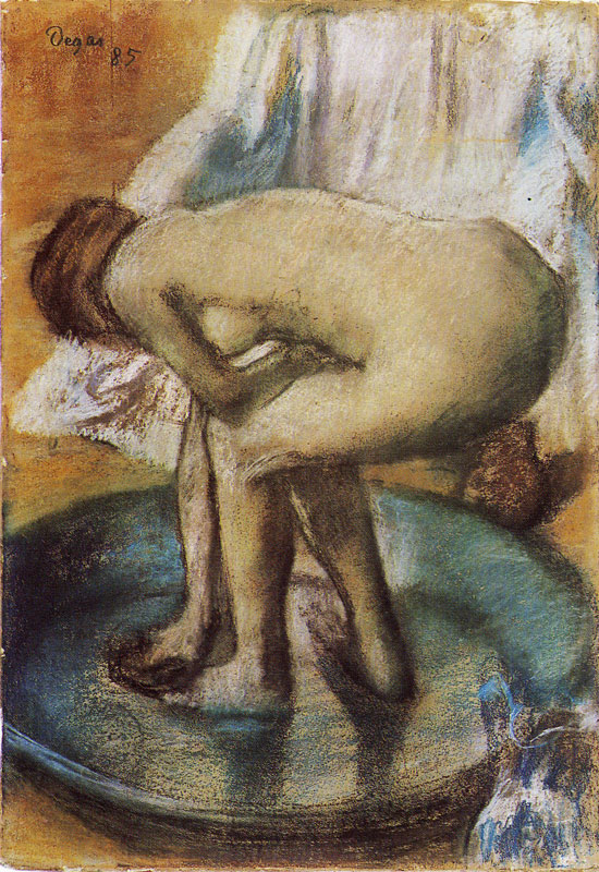 Edgar Degas - The Bather series - Tutt'Art@ (18).jpg