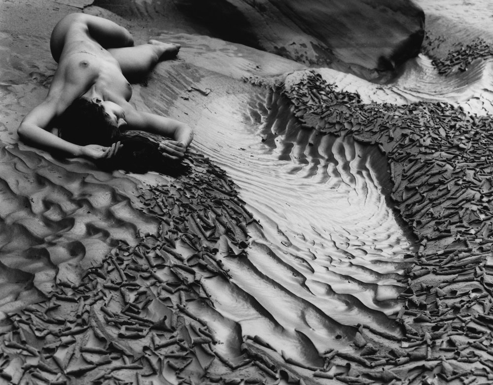 """Lake Powell Nude 6""   Limited edition silver gelatin print by Kim Weston"