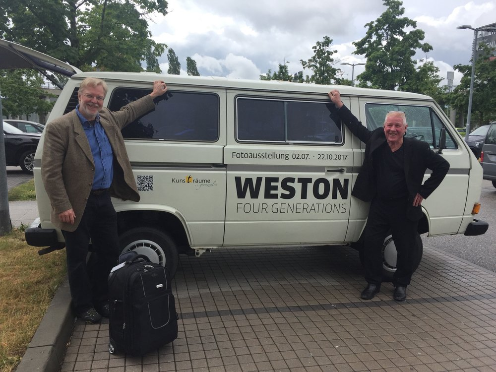 Weston's arrive in Germany