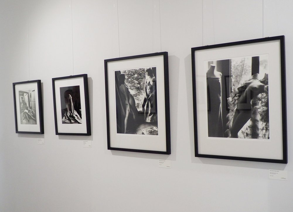 Photographs by Kim Weston on display at the Four Generations of Weston exhibition in Germany, 2017.