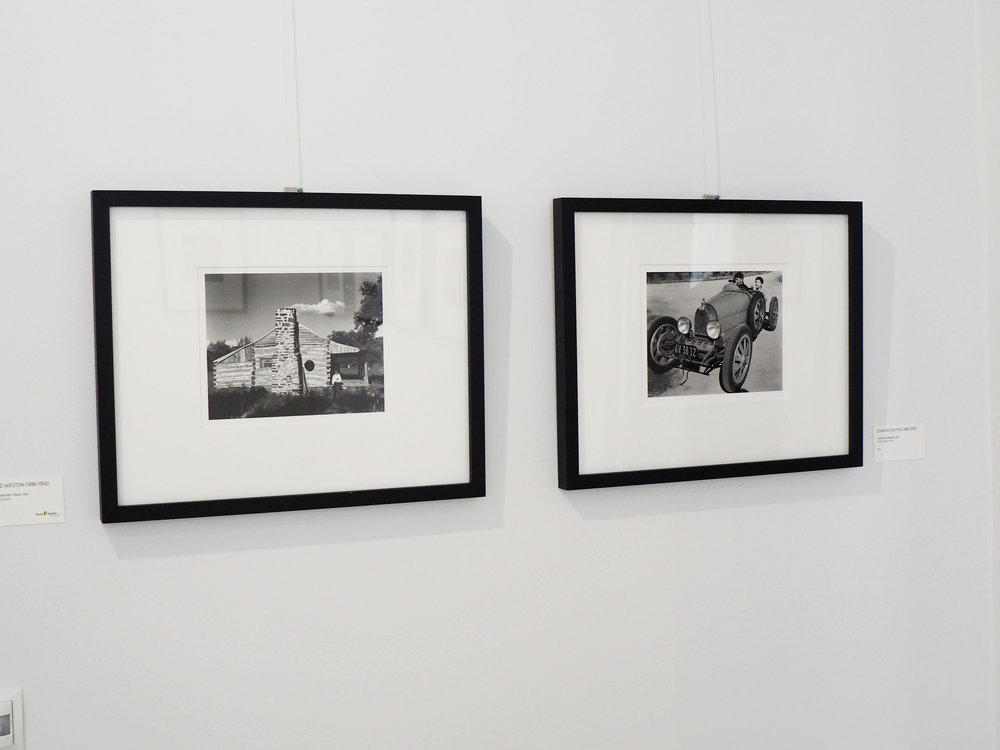 Photographs by Edward Weston, printed by Cole Weston, on display at the Four Generations of Weston exhibition in Germany, 2017.