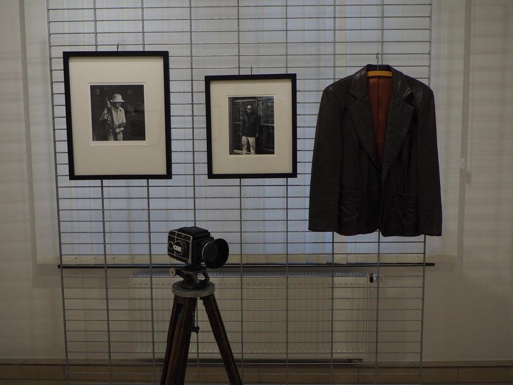 Brett Weston's Camera and Jacket