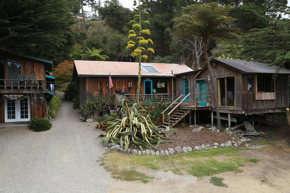 Edward Weston's former home in Carmel Highlands, CA. Wildcat Hill by Zach Weston