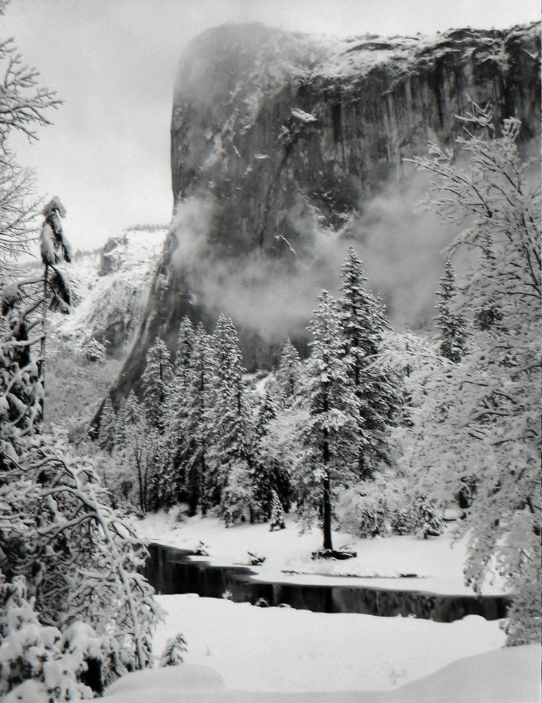©Ansel Adams - El Capitan, Winter 1952