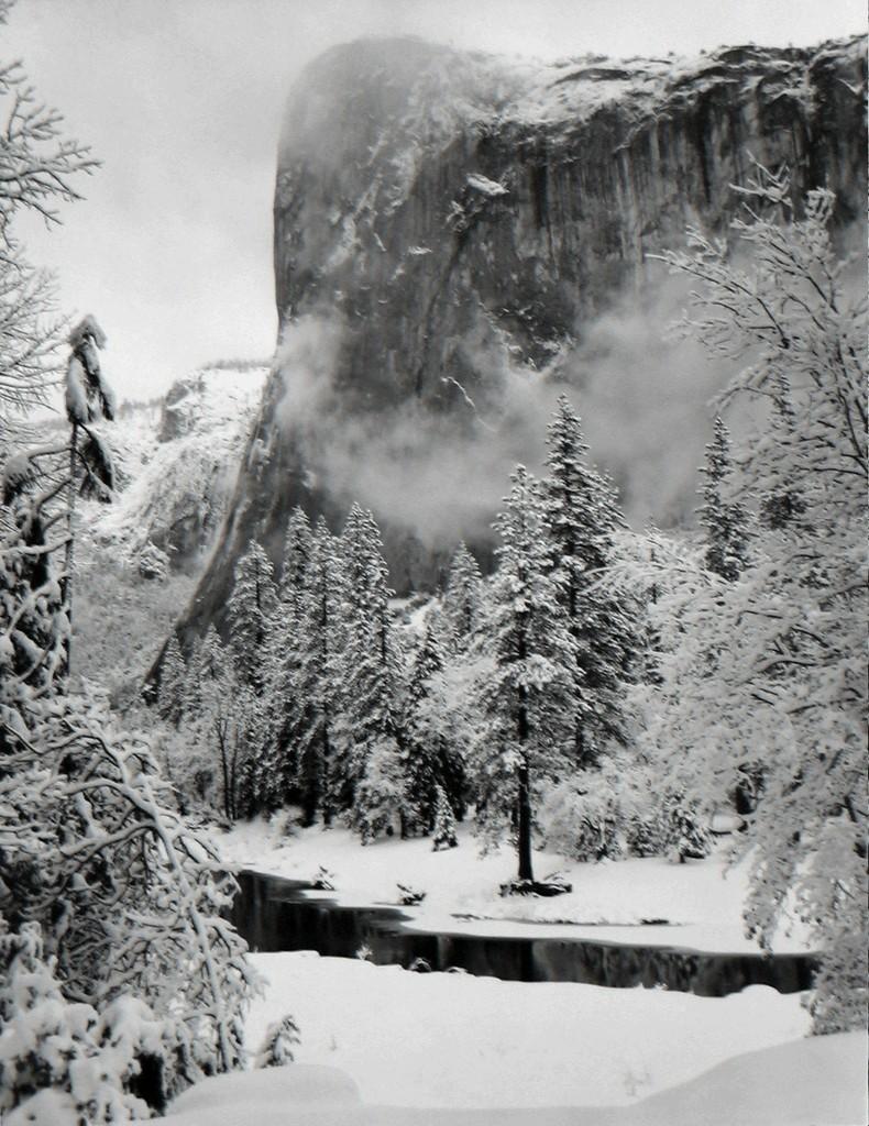 ©Ansel Adams - El Capitan, Winter 1952