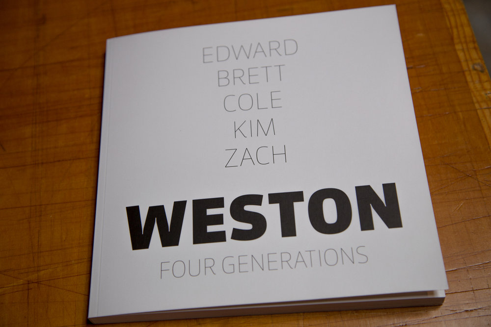 Books and Catalogs - High Quality Printed Books and Catalogs of Weston Photography