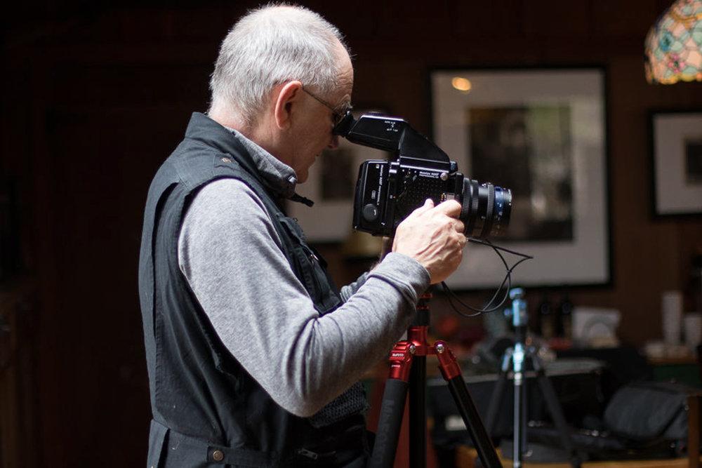 John shooting at Wildcat. Photo: John Cornicello