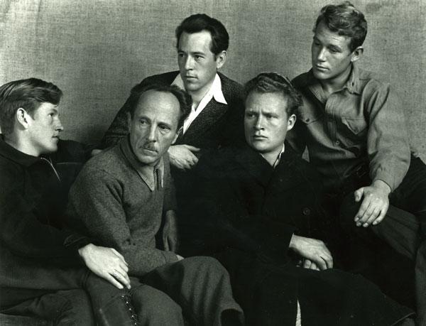 From Left: Cole, Edward, Chan, Brett, and Neil Weston  © 2016 Cole Weston Trust