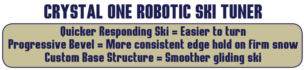 Crystal One Robotic Ski Tuner
