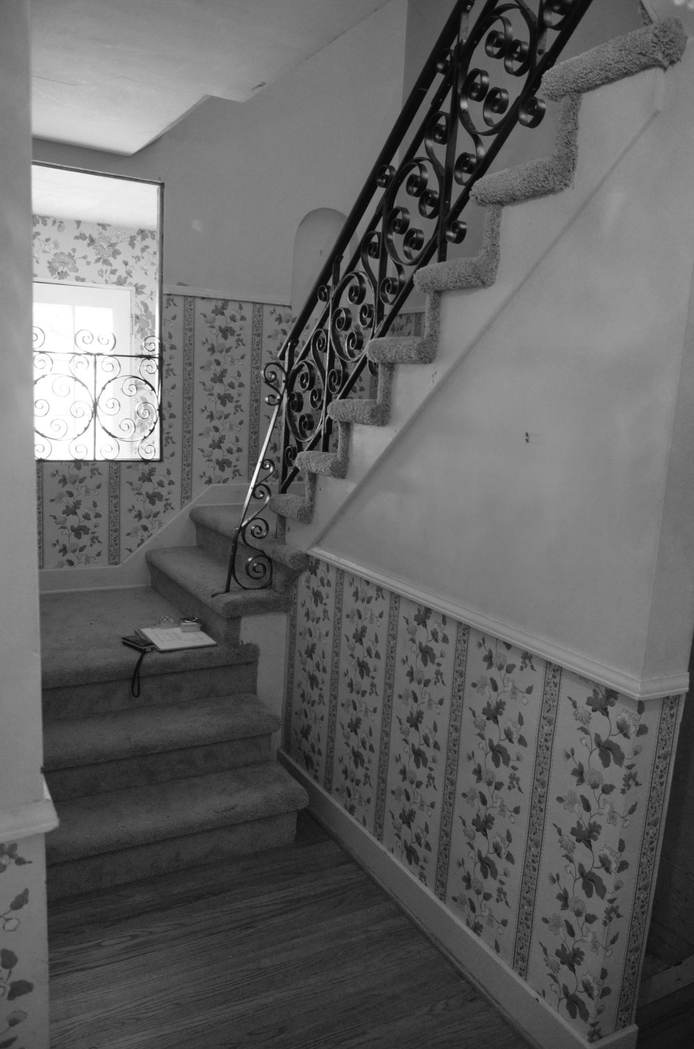 ENTRY STAIR BEFORE