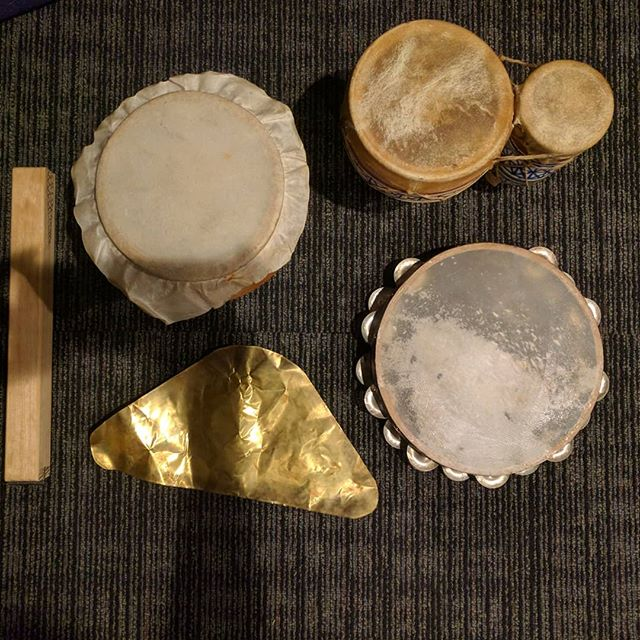 Recorded some sounds for a Percussion sample library with @komponierstdu today!
