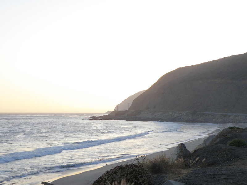 Coastal View in Southern California