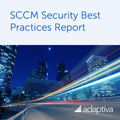 Top 20 SCCM Security Best Practices Report