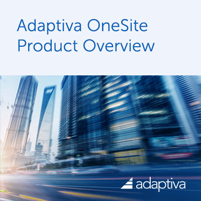 OneSite Product Overview Brochure