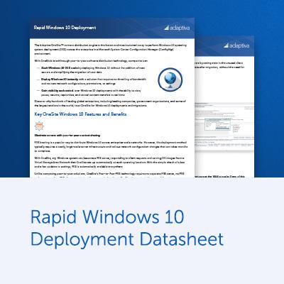 Rapid Windows 10 OSD Datasheet