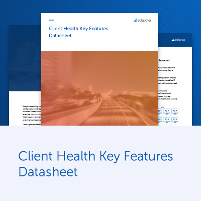 Client Health Key Features Datasheet