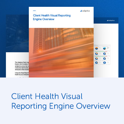 Client Health Visual Reporting Engine Overview