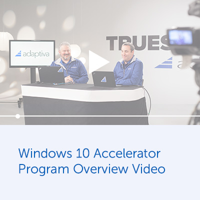 Windows 10 Accelerator Program Overview