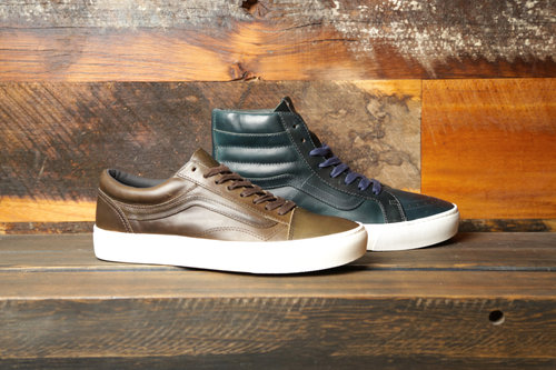 Horween Leather X Vans Vault — The General by Vans 0e61ada2bc61