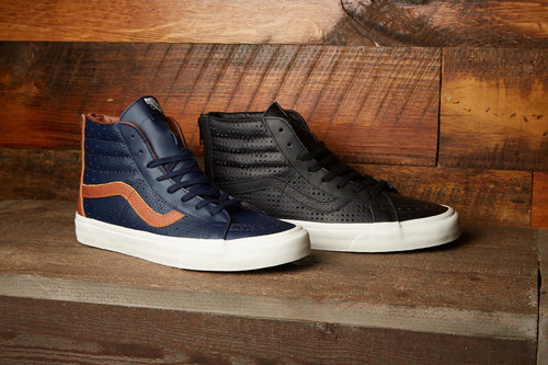 10244e903b673f Leather Perf Sk8-Hi Reissue Zip — The General by Vans