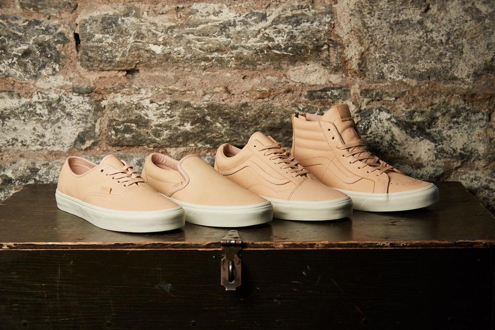 1c724c283d Veggie Tan Leather — The General by Vans