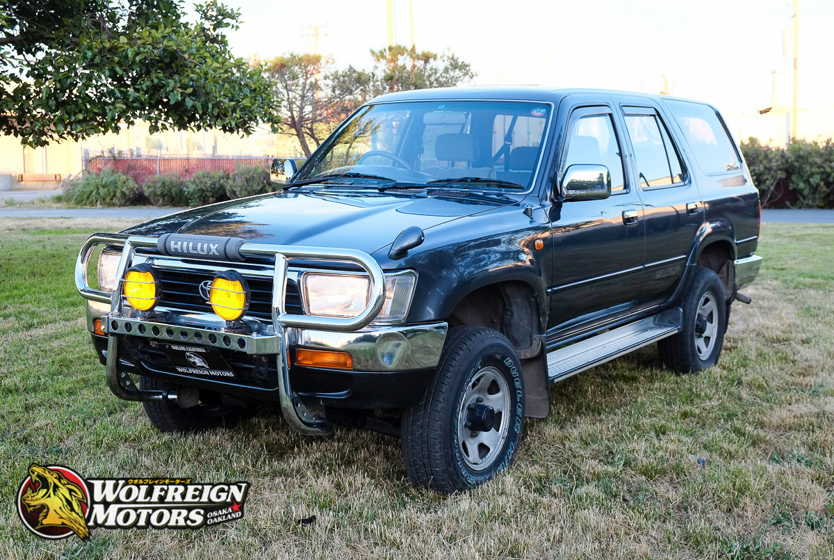 wolfreign motors 1992 toyota hilux surf ssr turbo diesel 5 speed manual rh wolfreignmotors com toyota surf manual transmission toyota surf manual transmission