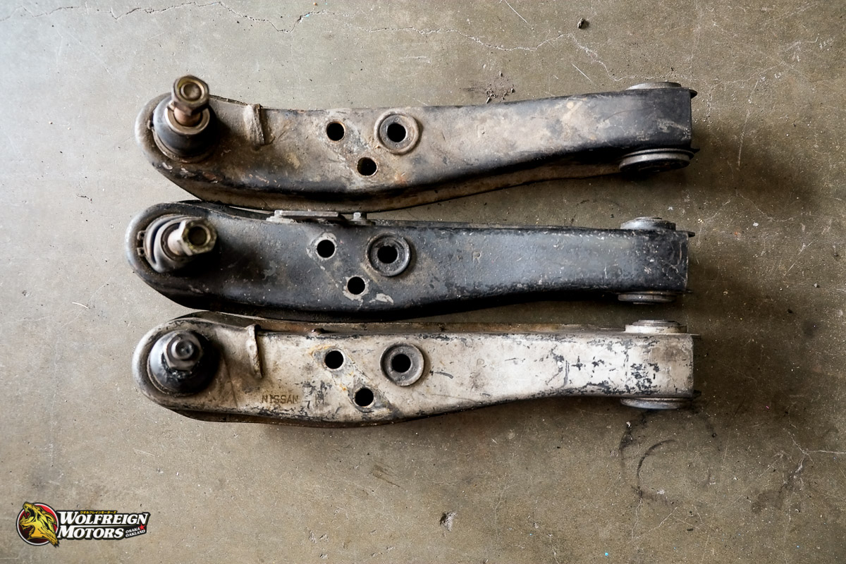 S13 Front Lower Control Arm RH