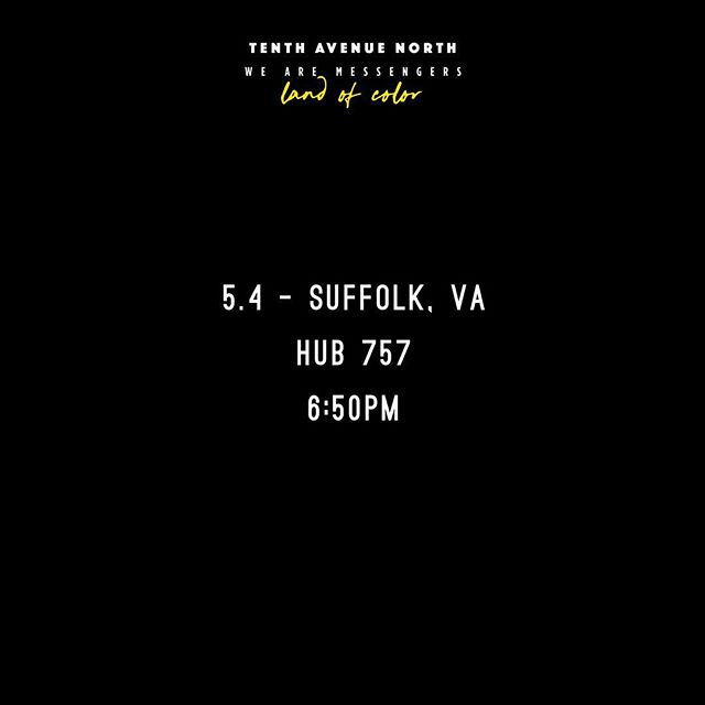 Suffolk, NY @ HUB 757  #landofcolor #tour #tenthavenuenorth #music #rock #suffolk #nextlevel #touring #travel #travelphotography #sound #community #partners #build #rockandroll #newsound
