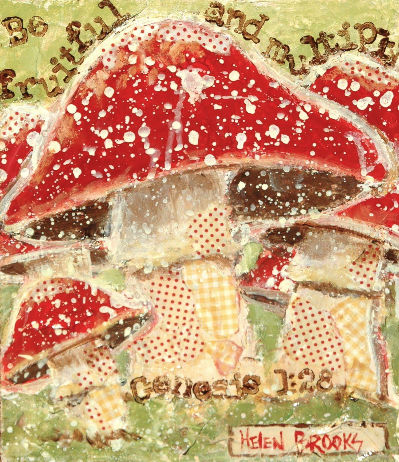 Mushrooms-fungus-multiply-God-christian-art-be+fruitful+and+multiply
