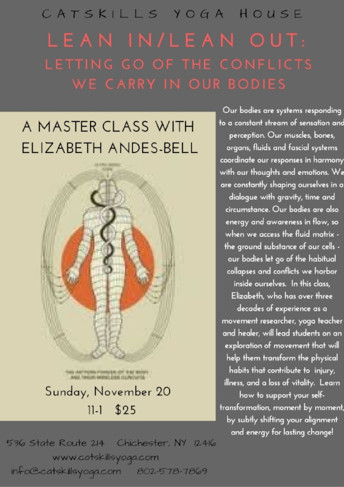 To learn more about  Elizabeth Andes-Bell,  her work as a teacher and healer, and her soon-to-be published book,  please visit her  website .