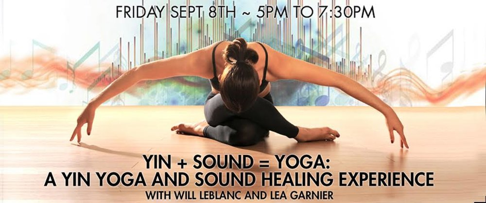 All life is relationship, and in this experience we will explore the dynamics between the practice of Yin Yoga and the therapeutic Sound Bath. By uniting our emotional, spiritual and physical bodies in a meditative way, these two modalities will bring you back to who you truly are.  The practice of Yin Yoga is slow and deep. Based on the principles of stillness, it encourages students to listen to their body's individual needs. A yin practice guides students past the muscle and into the connective tissue, joints and areas of tension that are being held in deep layers of the body. Students will learn an intuitive approach to working with the body that cultivates listening, facilitates the release of long-held tensions and offers genuine relaxation. Simple postures on the floor will be practiced to relax your muscles in order to stimulate the ligaments, joints and layers of fascia. No yoga experience necessary!!  Sounds have been utilized in various cultures for thousands of years as a tool for healing. Whether through the use of mantras, medicine melodies or the use of interval and frequency, these various techniques all have the same intention: to move us from a place of imbalance to a place of balance. Man in essence is a vibration. The molecule sings, the heart of the atom is tone, and man has a sound body which comes in and out of tune. Enabling the soul to remember its true divine self, its spirit self, we can re-merge with all that is. Finding connection and balance with all that is, we find ourselves in wholeness, homeostasis or perfect health.   $35   Pre-Registration    $40 Same Day    Write info@catskillsyoga to reserve your space.
