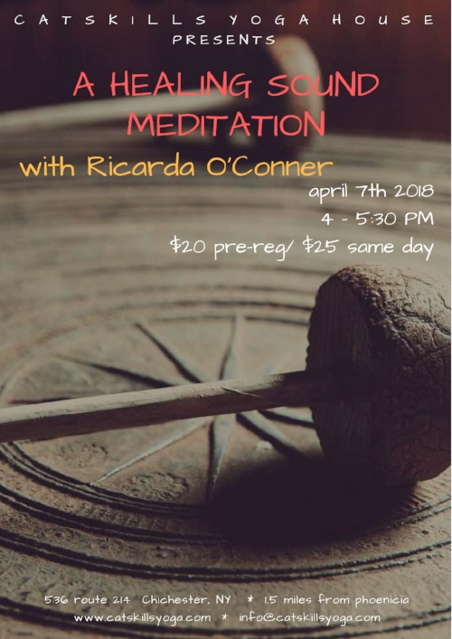 For more about Ricarda and the healing work she does, see www.ricardaoconner.com.