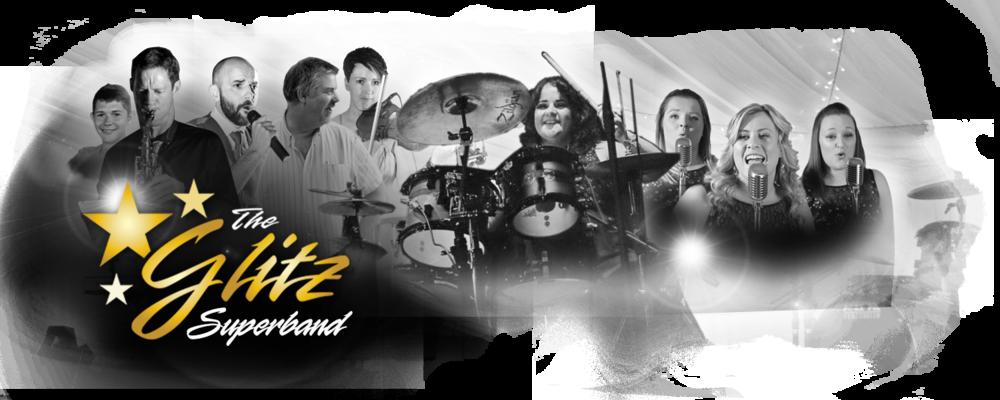 Glitz Group Superband Logo and Band Image