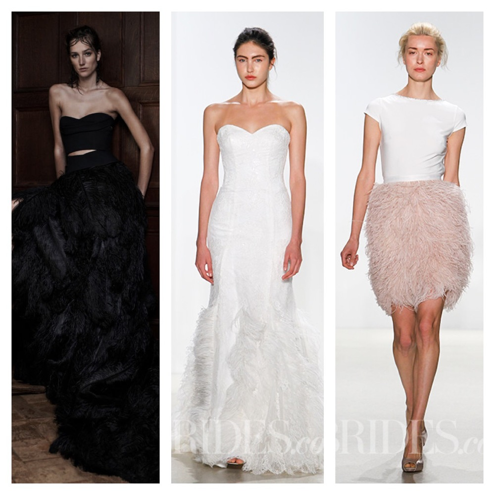 Vera Wang, Kelly Faetanini (Andy), Kelly Faetanini (Top #101 w/ Skirt#104)