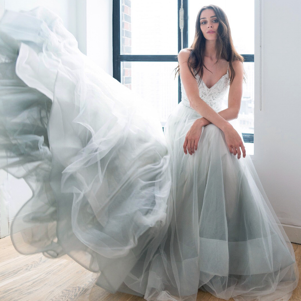 Fifty Shades Of Blue Blue Wedding Dresses That Will Wow Kelly