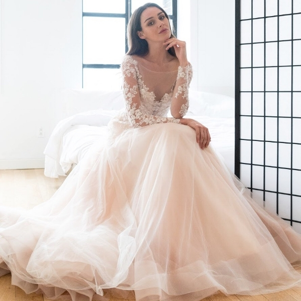 Winter Wedding Dresses Inspired By The Winter Olympics