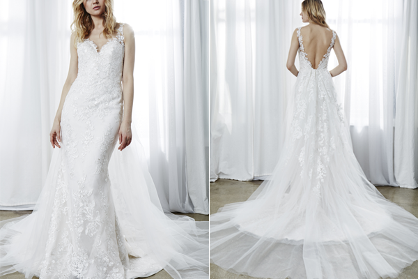 Gorgeous Wedding Gowns with Detachable Trains — Kelly Faetanini