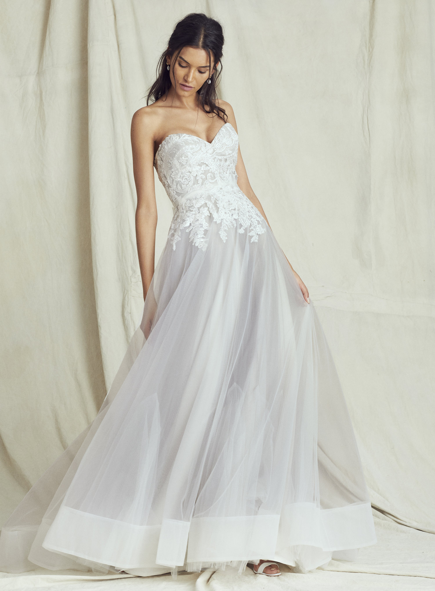 35e657bee8 Color Ice Blue Ombre Wedding Dresses