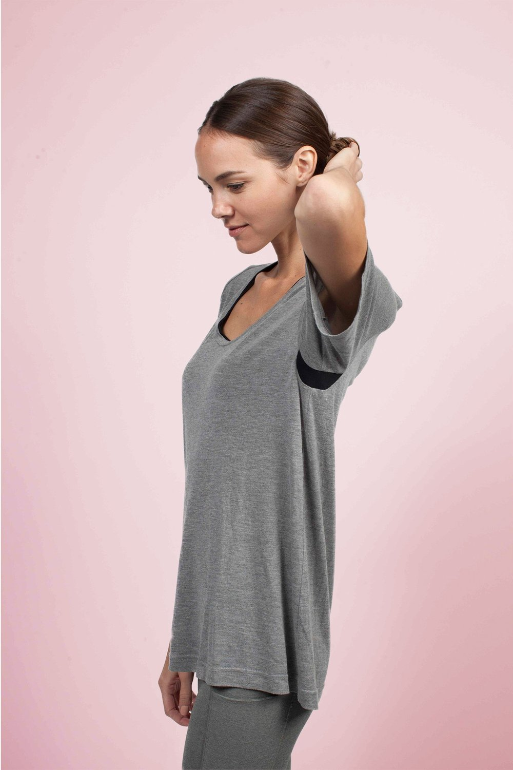 Specially engineered Coolmax® underarm provides the best breathability you'll have in any t-shirt, EVER hands down