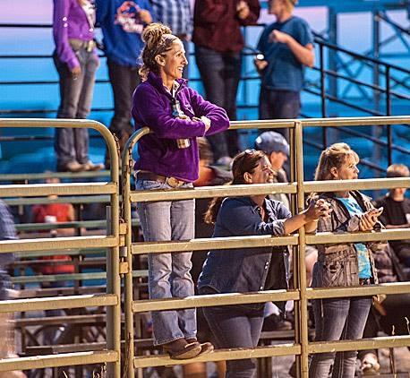Teton Valley Rodeo.  Driggs, Idaho