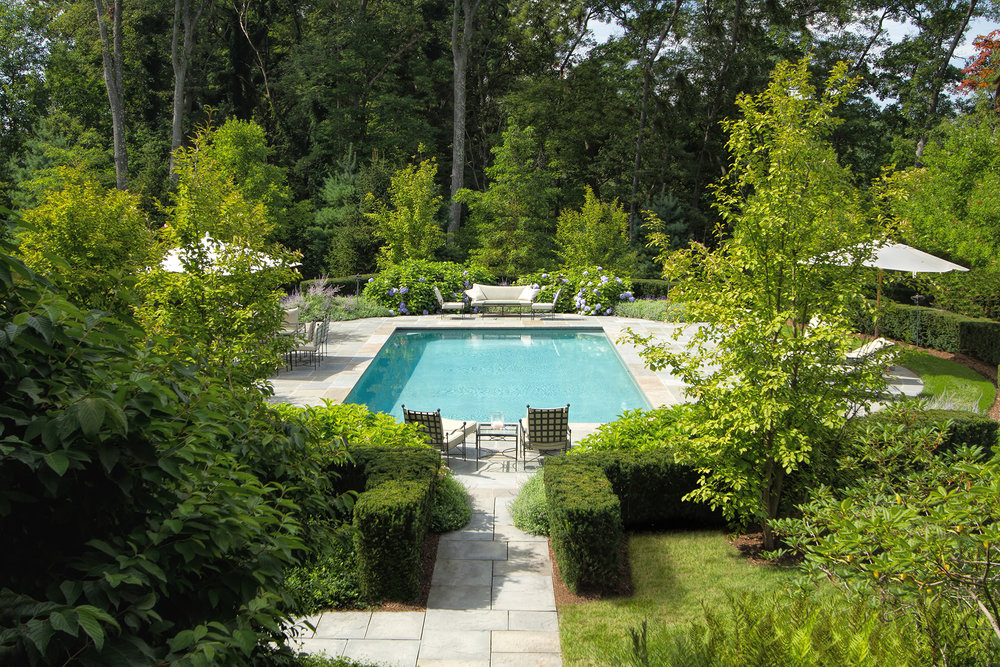 "Landscape Architecture ""Earl Major Estate"" Dan K. Gordon Associates"