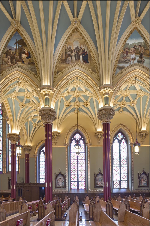 "Craftsmanship/Artisanship ""Cathedral of St. Patrick's"" John Canning Studios"
