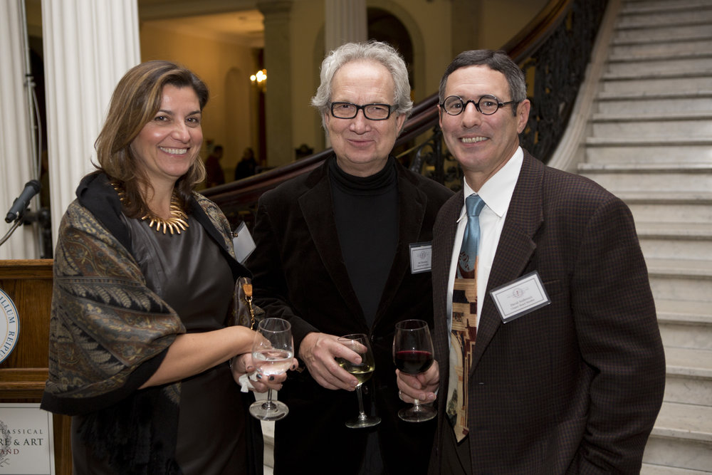 Cheryl Andreozzi, Jan Gleysteen, Board member David Andreozzi