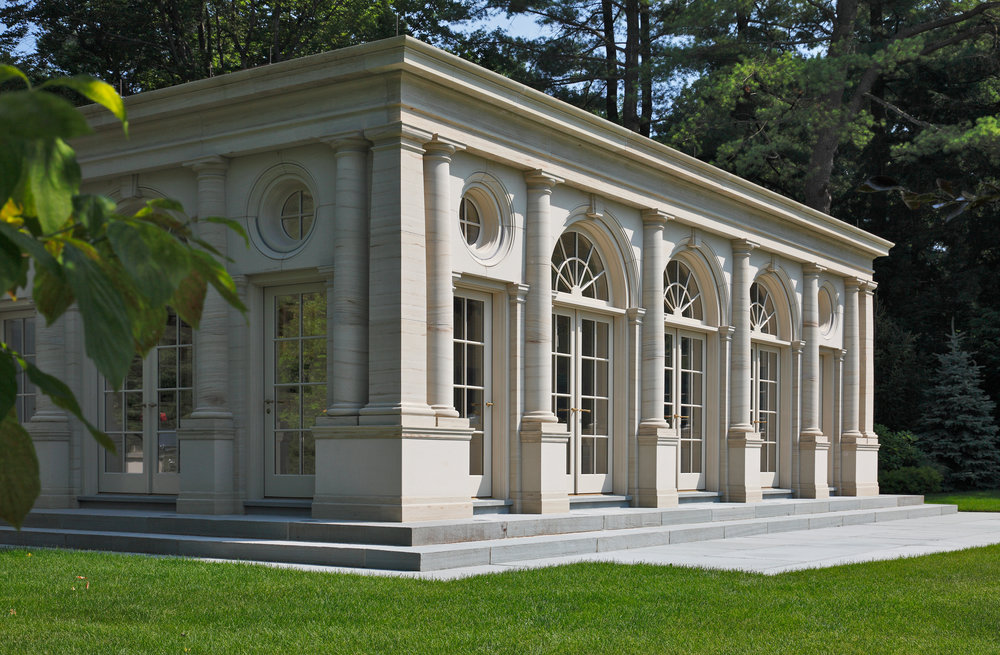 "New Construction Classical Under 5,000 SF ""Pavilion in The Park"" Ivan Berezicki Associates"