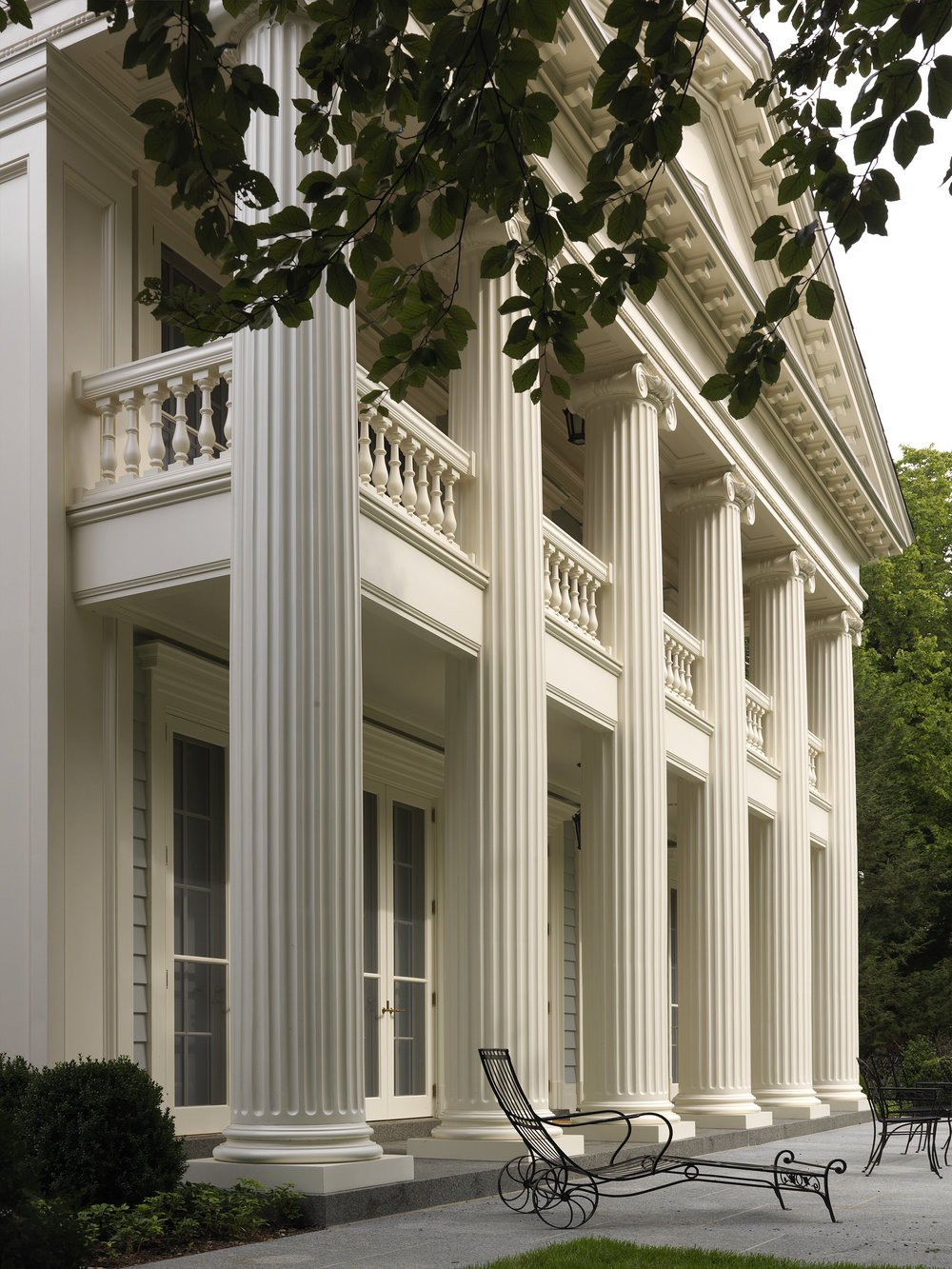 "New Construction, Classical Over 5,000 SF ""Greek Revival Residence"" Dell Mitchell Architects"